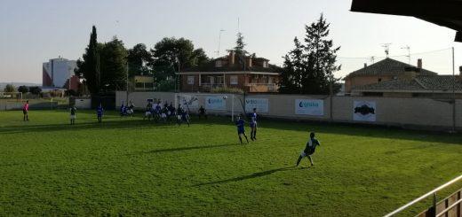 Imagen del partido Altorricón - Épila jugado este domingo 21 de octubre.